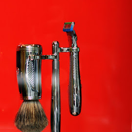 Antique Shaver by Eva Pastor - Artistic Objects Still Life ( grooming, men, shaving, shaver,  )