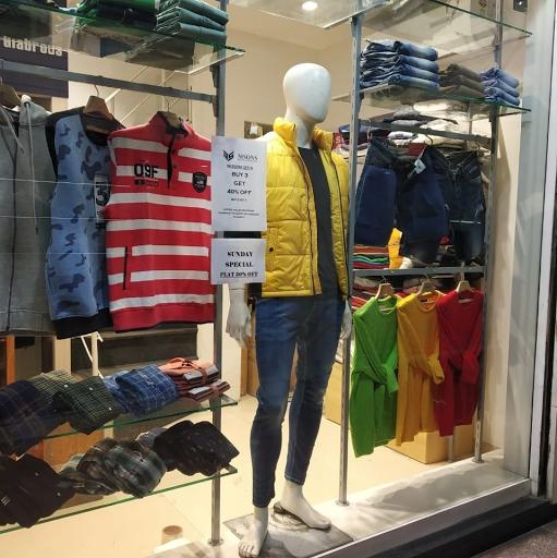 Msons The Premium Fashion Store, MG Road, MG Road logo