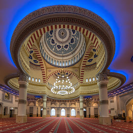 Masjid by Walid Ahmad - Buildings & Architecture Architectural Detail ( masjid, dubai, uae, photography )