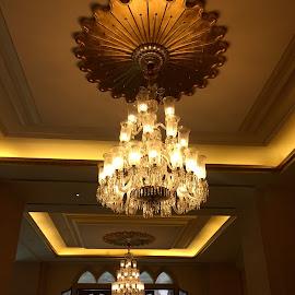 Chandelier by Manishi Vasishtha - Buildings & Architecture Other Interior ( chandelier, manishi, india, hotel, vasishtha, light )