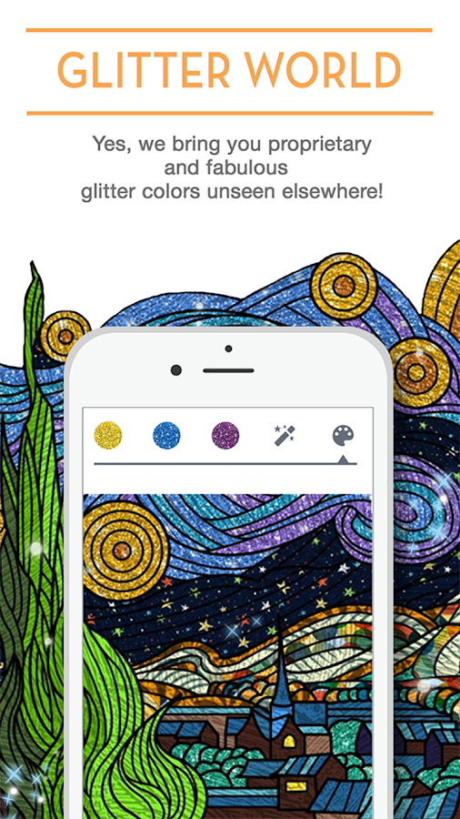 Coloring Book ColorCure Screenshot 0