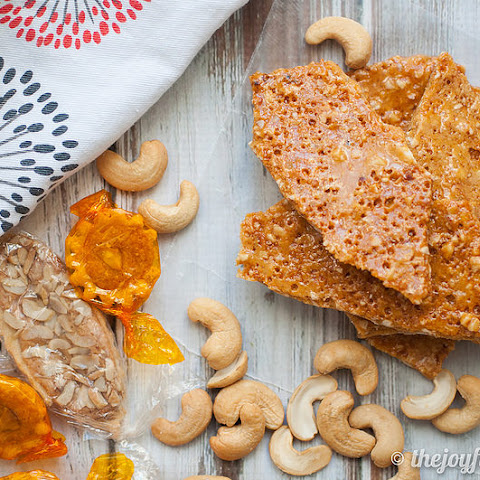 Airy Cashew Brittle