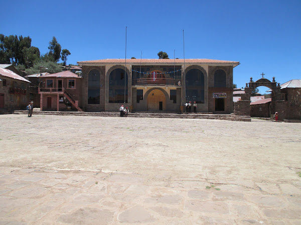 Taquile Island Town Square