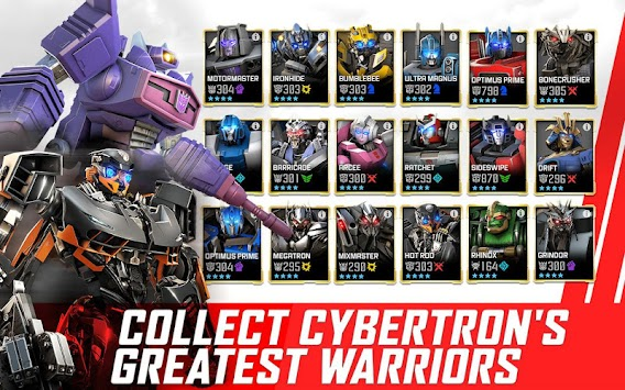 TRANSFORMERS: Forged To Fight APK screenshot thumbnail 8