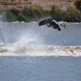 A splash above by Kelly Louden - Sports & Fitness Watersports