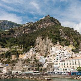 Amalfi by Andrew Moore - City,  Street & Park  Vistas