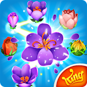Blossom Blast Saga Flower Link APK for Bluestacks