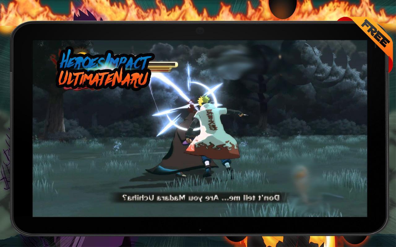 naruto shippuden ultimate ninja impact apk for android