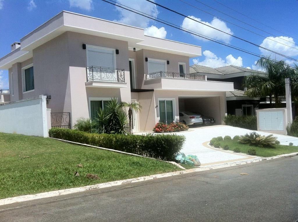 Casa à venda no Alphaville Residencial 10 de 532m² com 4 suítes/1 master.