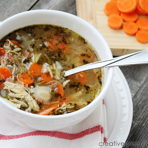 {Recipe} The Best Homemade Chicken Soup
