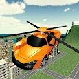 Flying Rescue Helicopter Car