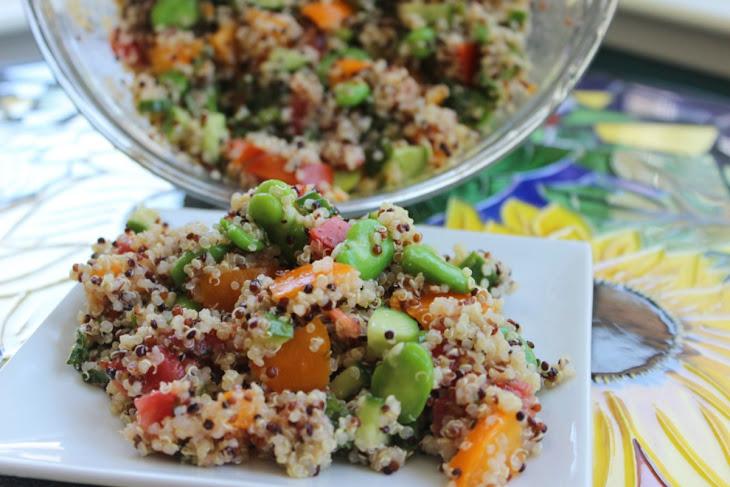 Fava Bean Quinoa Salad [Vegan, Gluten-Free] Recipe | Yummly