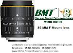 35 MM & 50 MM F MOUNT LENSES – LINE SCAN CAMERA INDIA