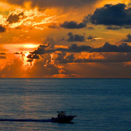 by Clara Scarano Scubla - Landscapes Sunsets & Sunrises ( clouds and sea, ocean, seascape, sunrise )