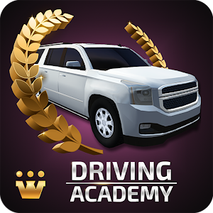 Car Driving Academy 2017 3D Icon