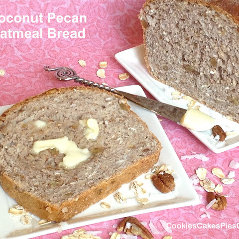 Coconut Pecan Oatmeal Bread