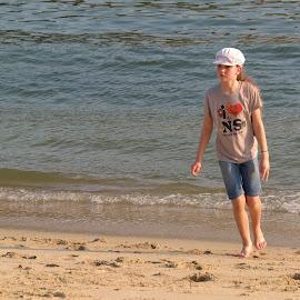 Enjoying at the beach by Koh Chip Whye - Babies & Children Children Candids (  )