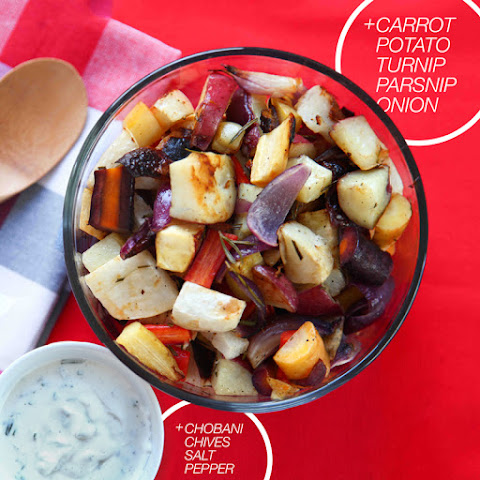 A Toast to Roasted Winter Veggies