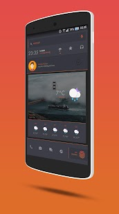 DarkDessert Theme for KLWP- screenshot thumbnail