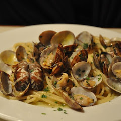 GF linguini with clams!