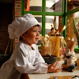 The chef by Primusa Ananta - Babies & Children Child Portraits (  )