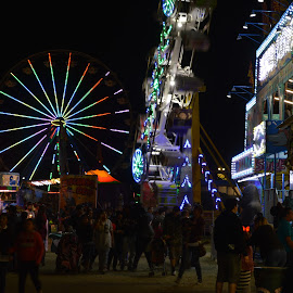 Carnival! by Heather Walton - Novices Only Street & Candid ( lights, rides, carnival, food, people )