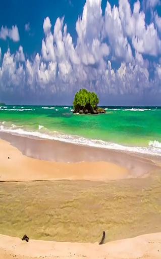 Beach Sea 8 Live Wallpaper - screenshot