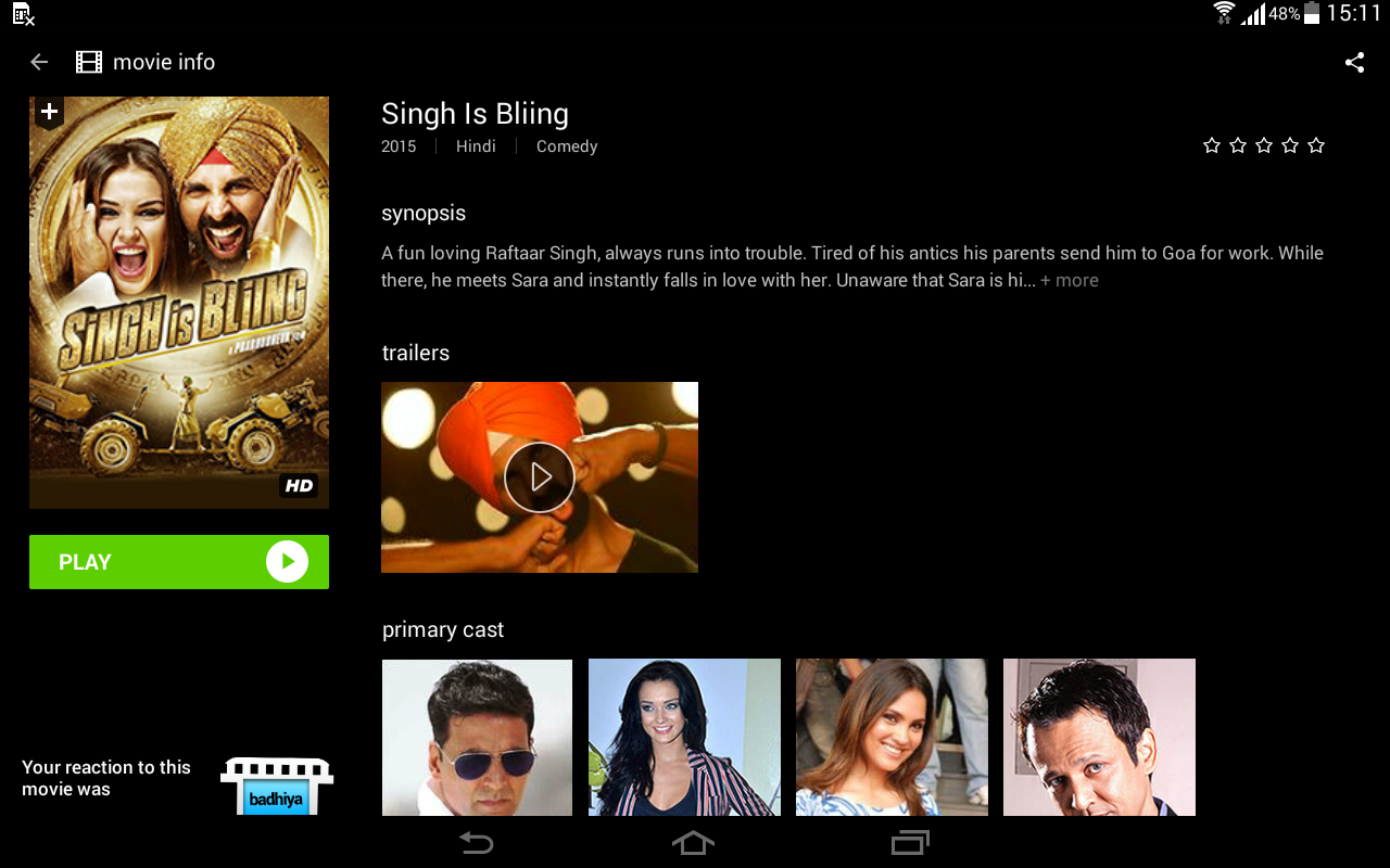 Hungama Play Online Movies App Screenshot 10