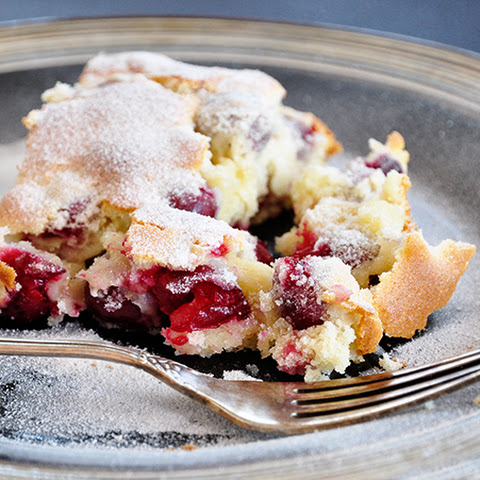Sour Cherry Cake With Buttermilk