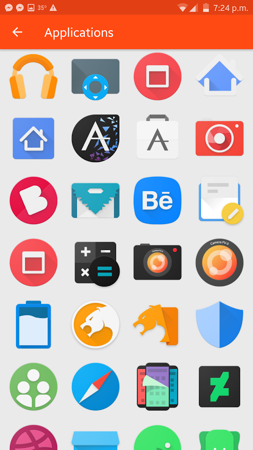 Fabulous - Icon Pack Screenshot 4