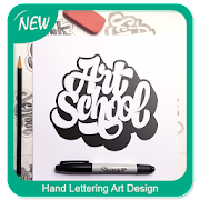 Hand Lettering Art Design 7.1 Icon