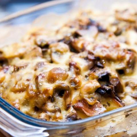 Cheesy Mushroom Potato Casserole Recipe | Yummly