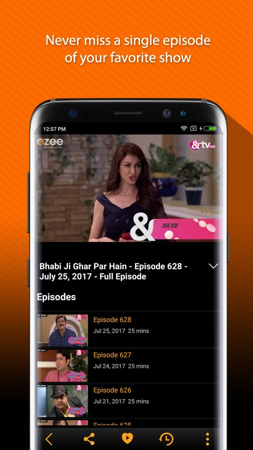 OZEE Free TV Shows Movie Music Screenshot 4