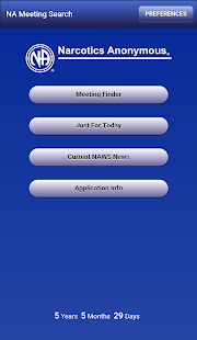 App NA Meeting Search 3.0.1 APK for Windows Phone