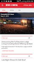 Screenshot of Forecastle Festival