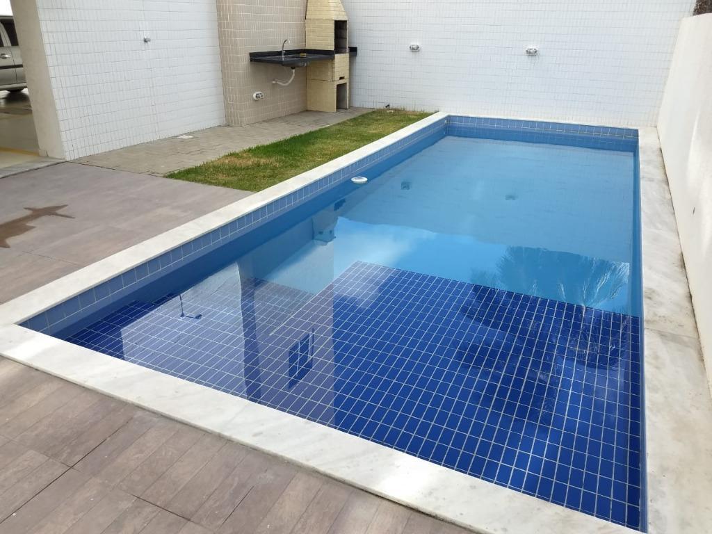 Apartamento com 2 dormitórios para alugar, 50 m² por R$ 800/mês - Camboinha - Cabedelo/PB