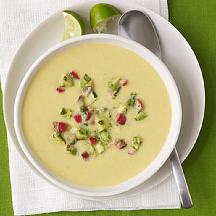 Chilled Corn Soup Recipe | Yummly