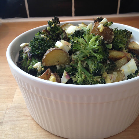 Broccoli and Potato Gribiche