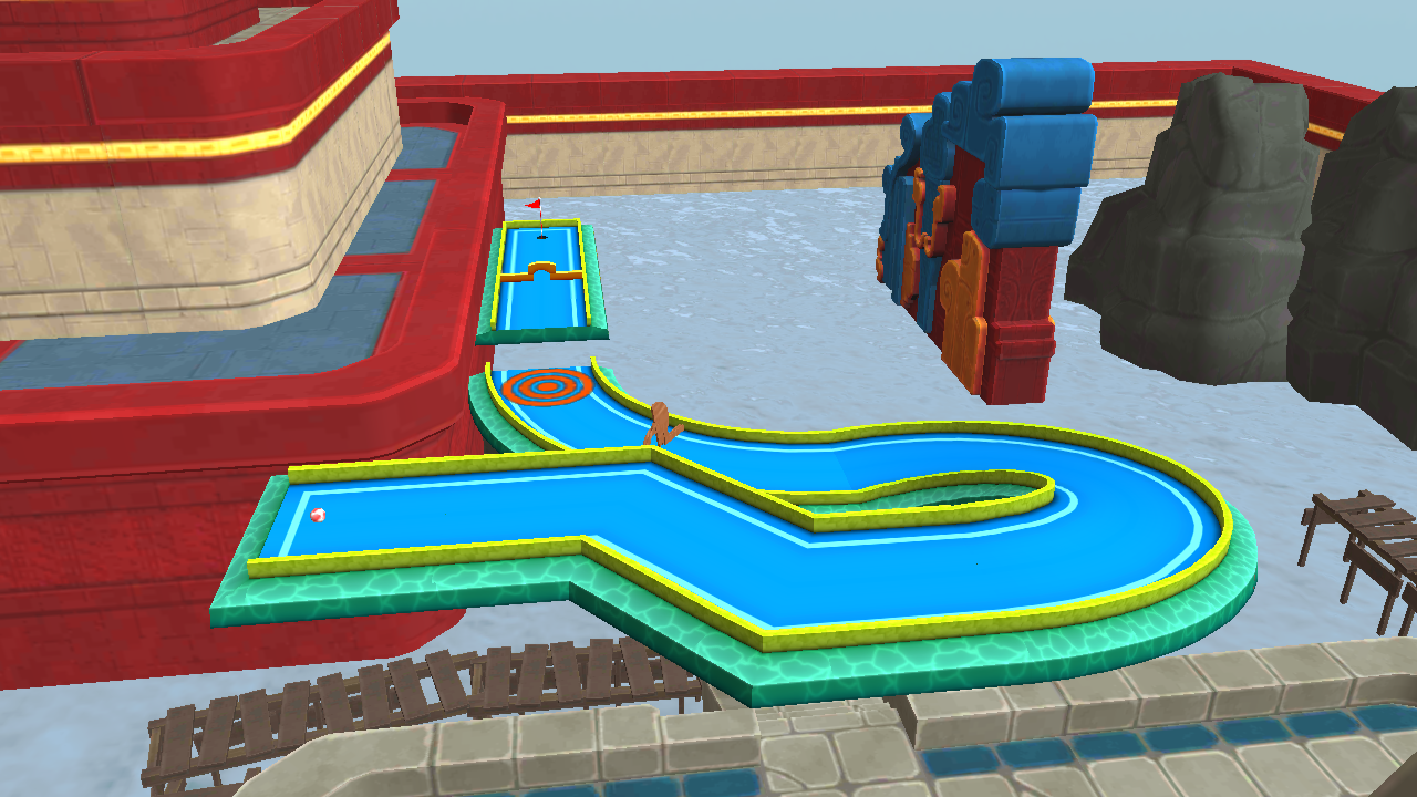Mini Golf 3D City Stars Arcade Screenshot 6