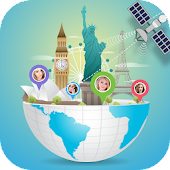 Earth Map Live : GPS Tracking - Voice Navigation icon