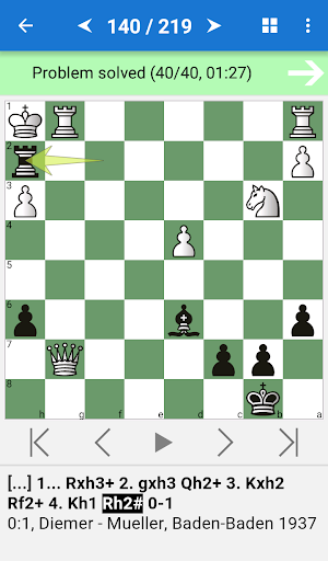 Manual of Chess Combinations - screenshot