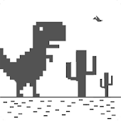 Game Dino chrome T-rex Runner APK for smart watch