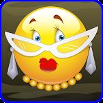 Emotion sticker whatsapp line Icon