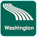 Washington Map offline Icon