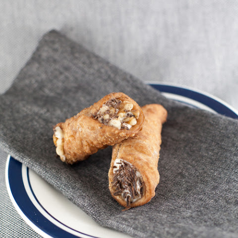 Cannoli with a Ricotta Cheese Filling