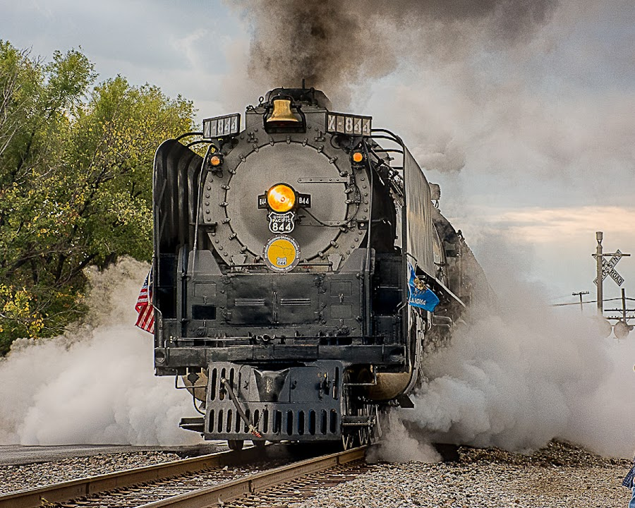 by Ray Ebersole - Transportation Trains ( trains )