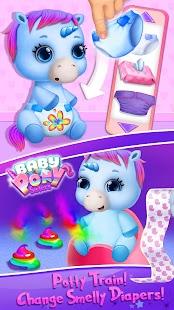 Baby Pony Sisters - Virtual Pet Care & Horse Nanny