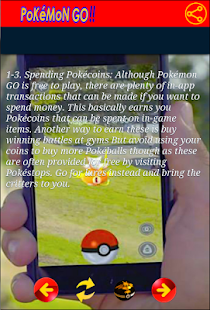 Tricks & Tips Pokemon Go - screenshot