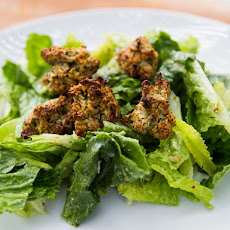 Caesar Salad with Gluten Free Nutty Croutons