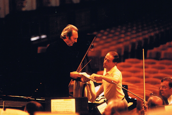 Rehearsing with Giulini and the Vienna Philharmonic, Muzikverein, 1993 (1)